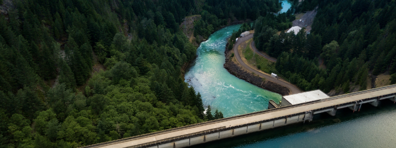 how hydro electric power works